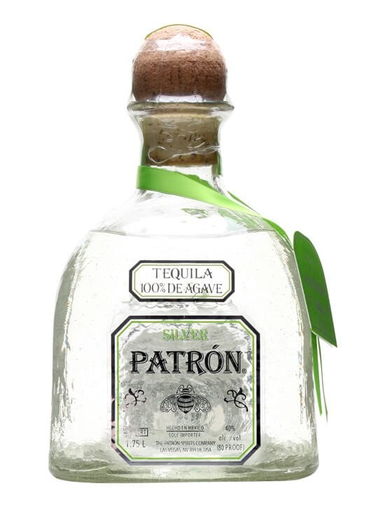 how to drink patron silver tequila