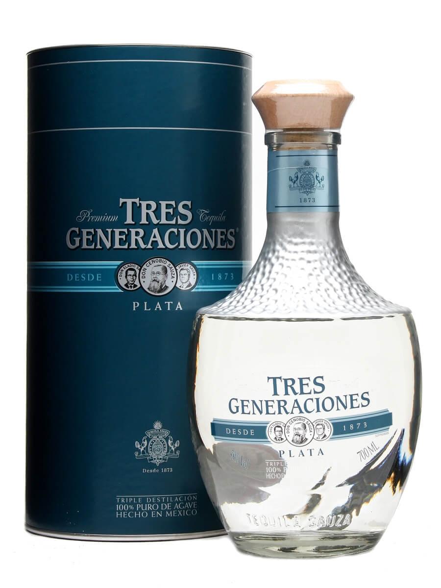 Sauza Tres Generaciones Plata (Silver) Tequila