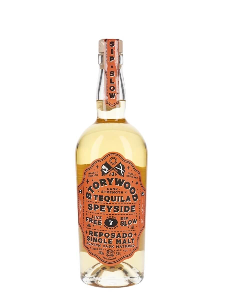Storywood Reposado Cask Strength Tequila / Speyside Cask Aged