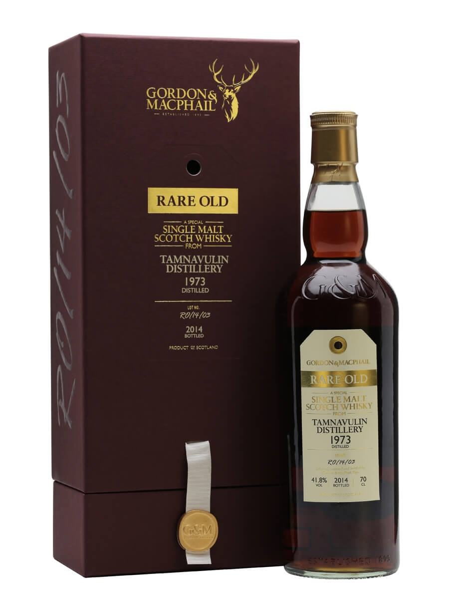 Tamnavulin 1973 / 40 Year Old / Rare Old / Sherry Cask / G&M