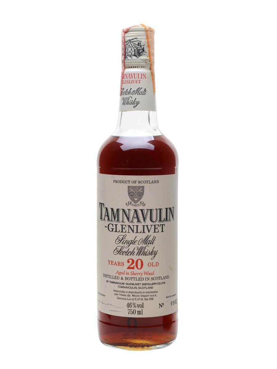 Tamnavulin-Glenlivet 20 Year Old / Sherry Cask