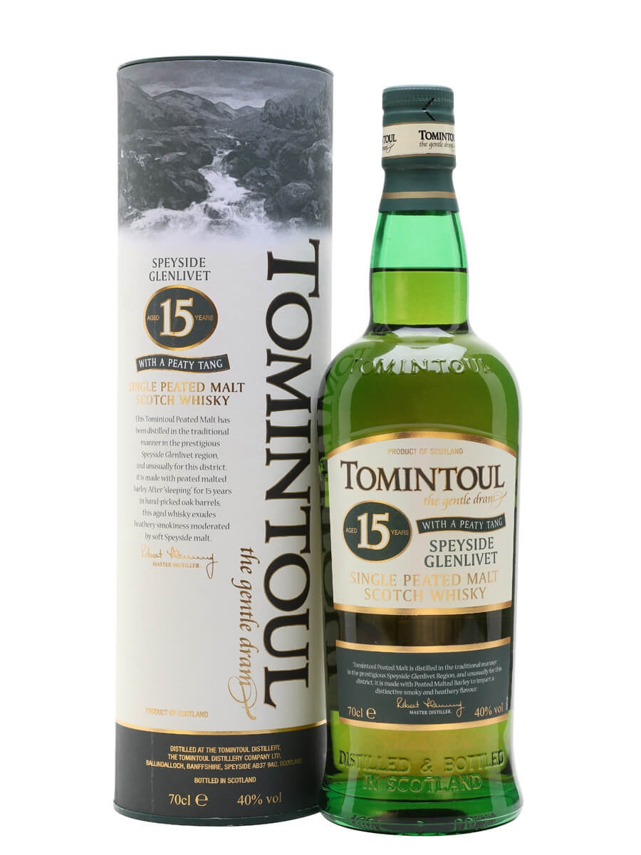 Tomintoul 15 Year Old / Peaty Tang