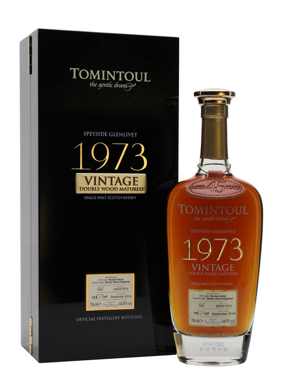 Tomintoul 1973 / 45 Year Old /  Double Wood Matured