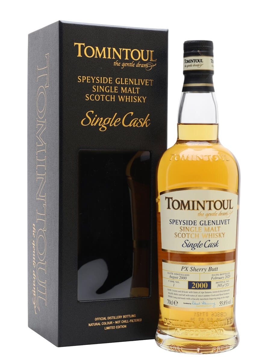 Tomintoul 2000 / 19 Year Old / Sherry Cask