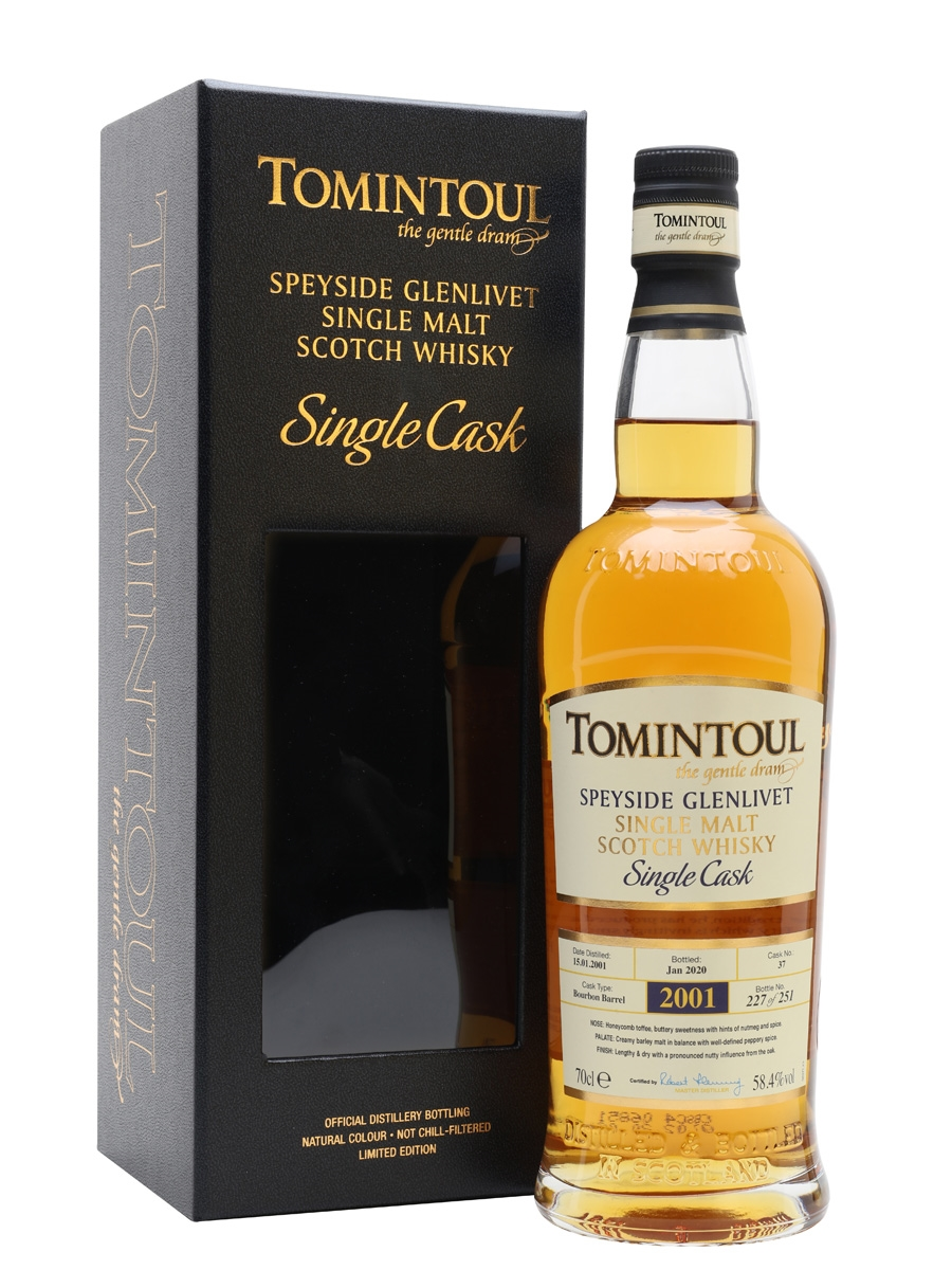 Tomintoul 2001 / 19 Year Old / Bourbon Cask