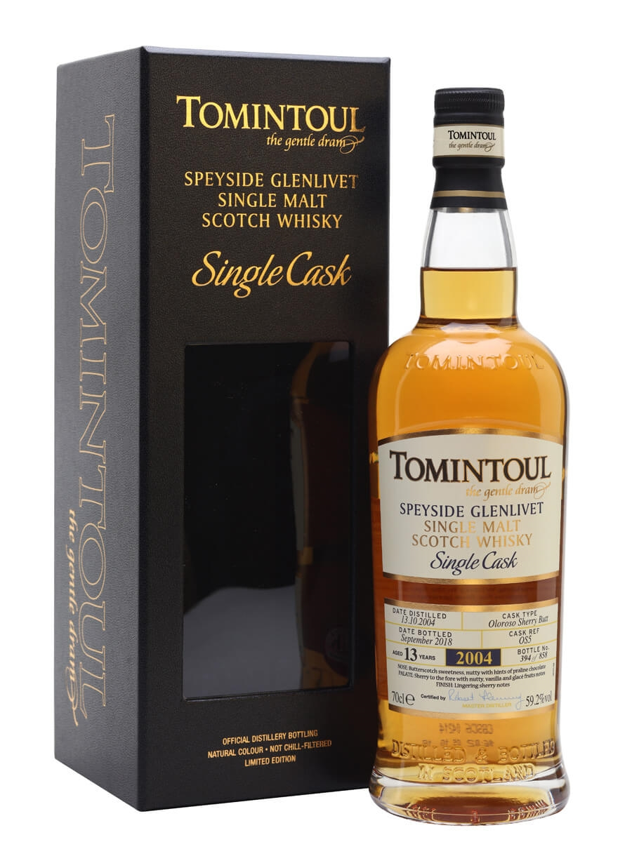 Tomintoul 2004 / 13 Year Old / Sherry Cask