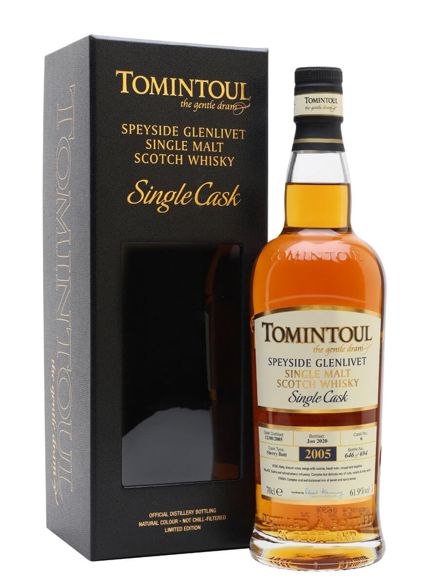 Tomintoul 2005 / 14 Year Old / Sherry Cask