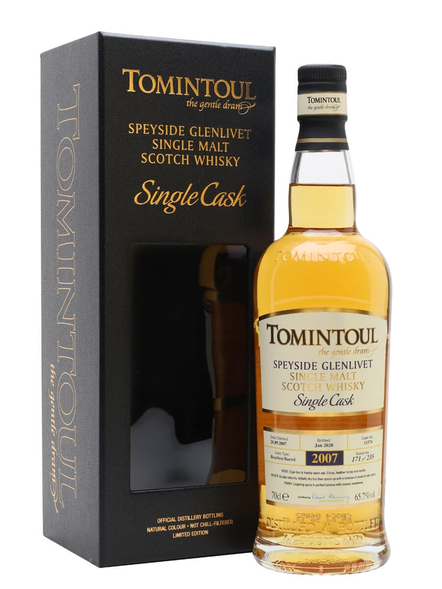 Tomintoul 2007 / 12 Year Old / Bourbon Cask