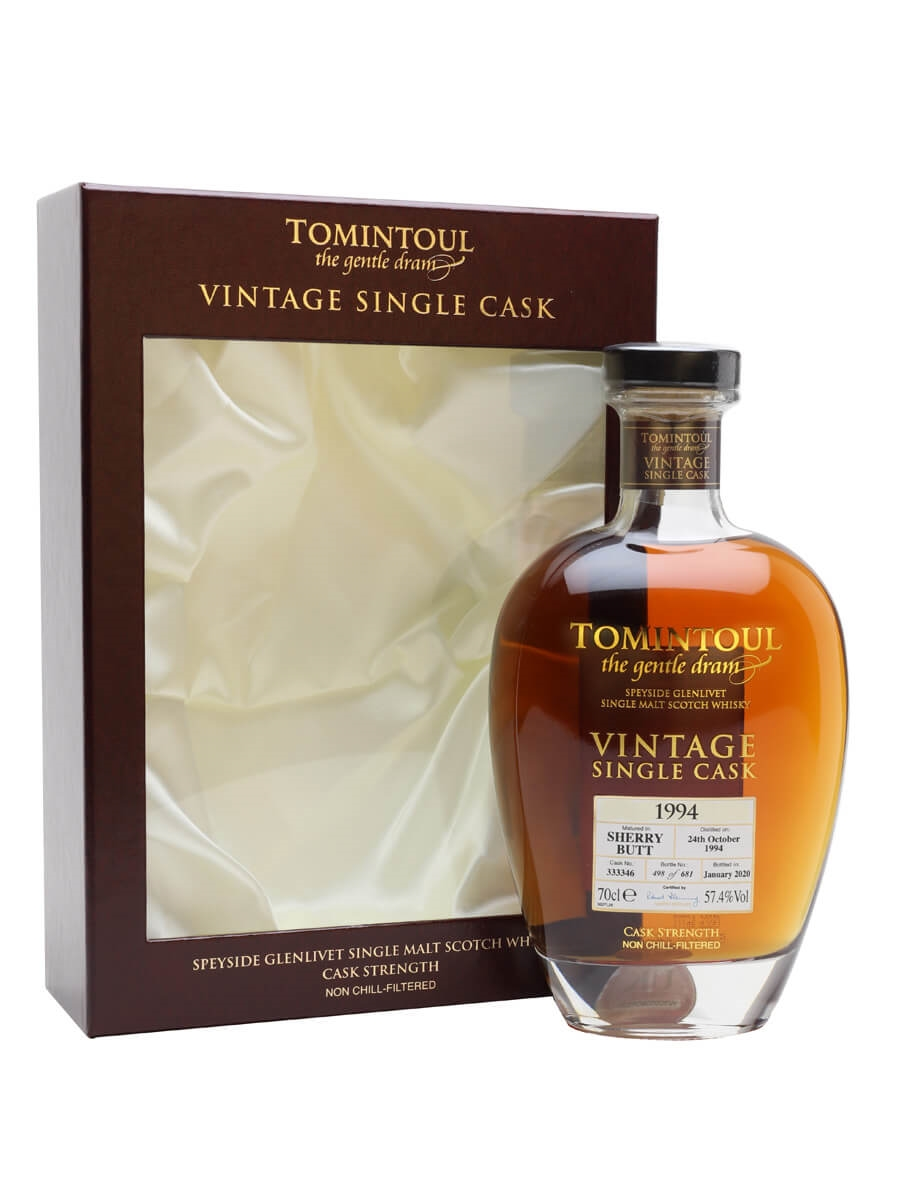 Tomintoul 1994 / 25 Year Old / Sherry Cask