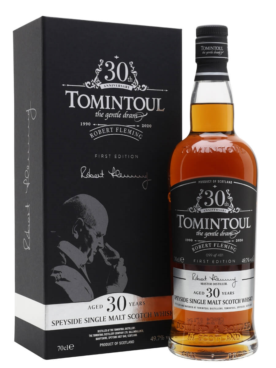 Tomintoul 30 Year Old / Robert Fleming 30th Anniversary / 1st Release