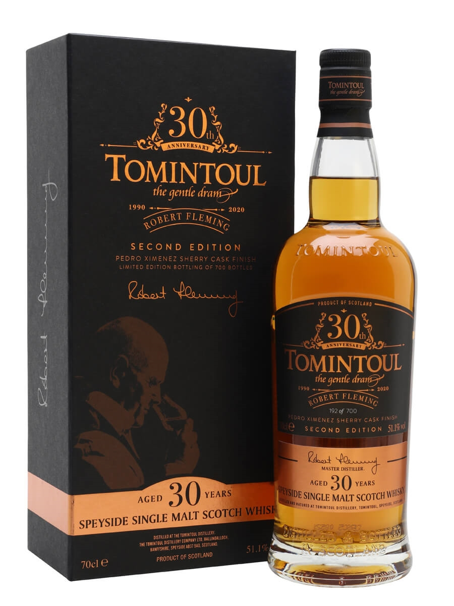 Tomintoul 30 Year Old / Robert Fleming 30th Anniversary / 2nd Release