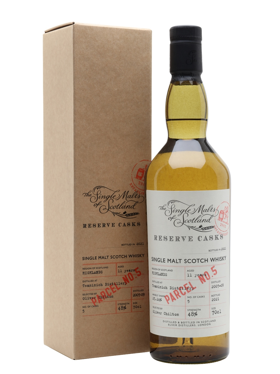 Teaninich 2007-09 / 11 Year Old / Reserve Cask Parcel #5