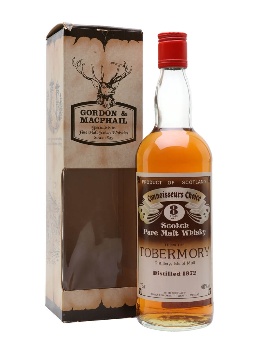 Tobermory 1972 / 8 Year Old / Connoisseurs Choice