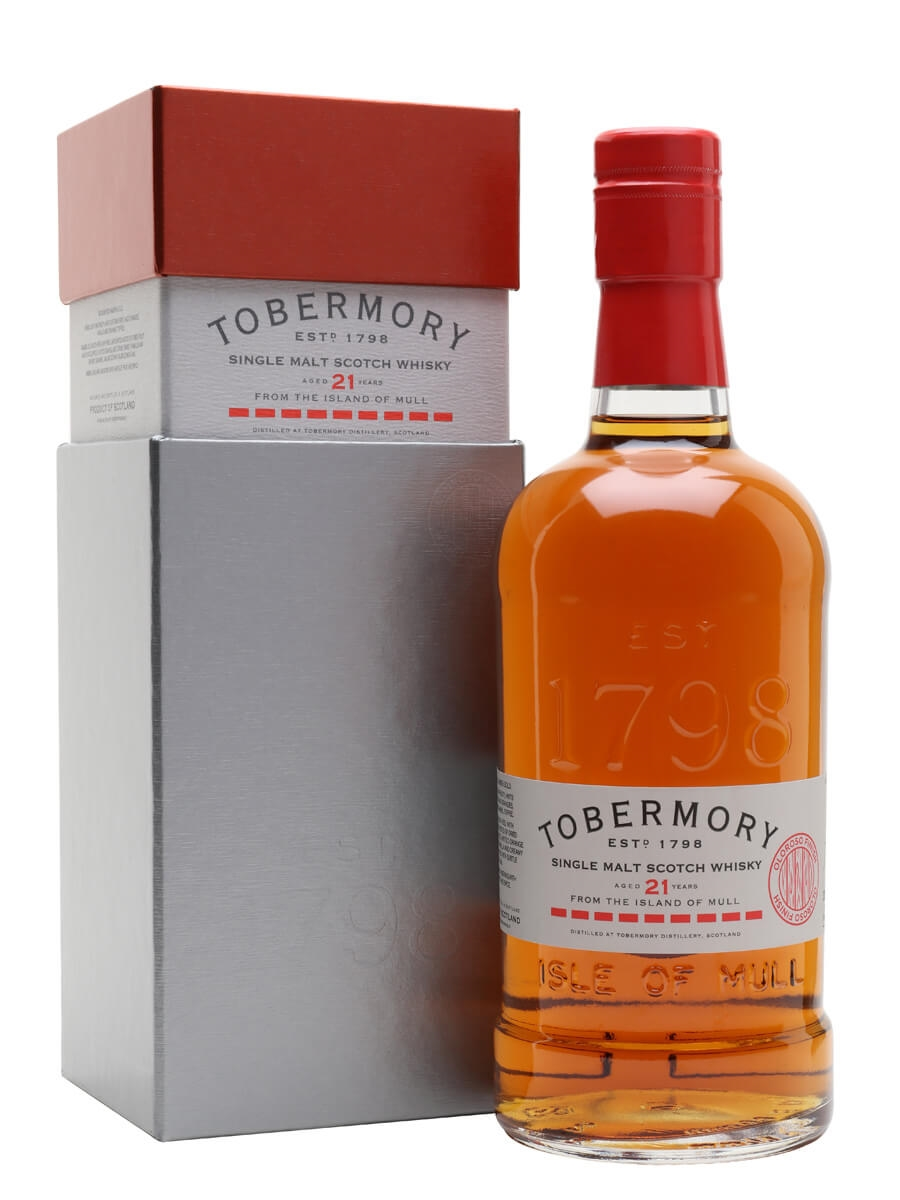 Tobermory 21 Year Old / Oloroso Finish