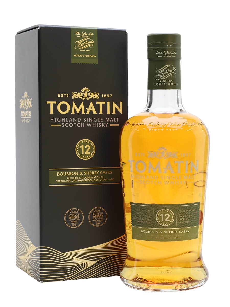 Tomatin 12 Year Old / Bourbon & Sherry Casks
