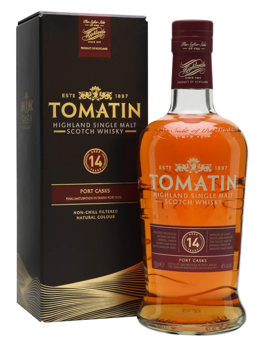 Tomatin 14 Year Old / Tawny Port Finish