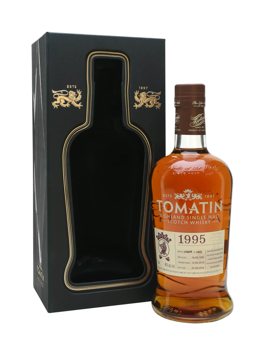 Tomatin 1995 / 21 Year Old / Oloroso Sherry Cask