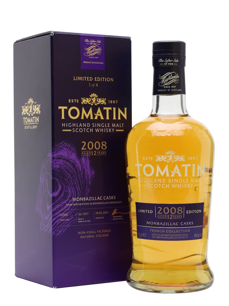 Tomatin 2008 / 12 Year Old / Monbazillac Cask