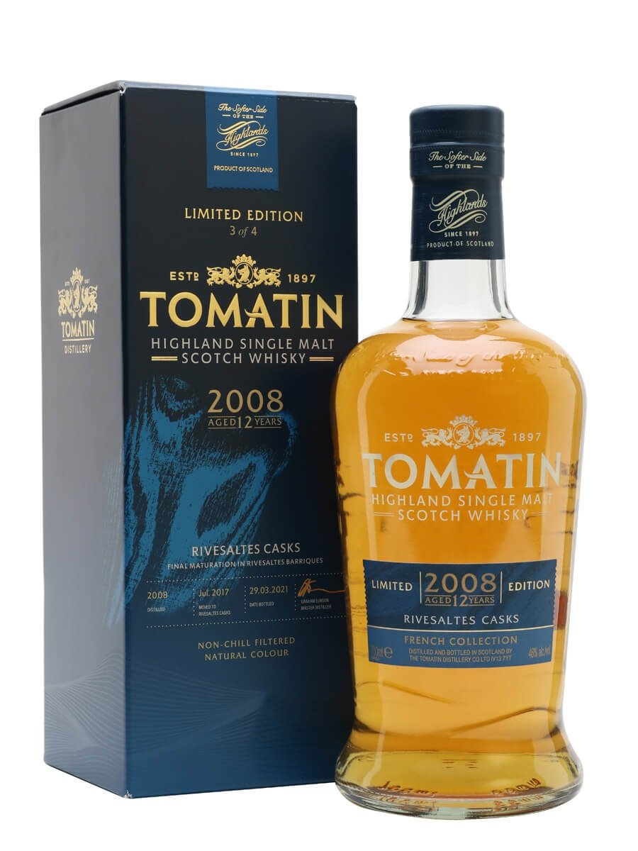 Tomatin 2008 / 12 Year Old / Rivesaltes Cask