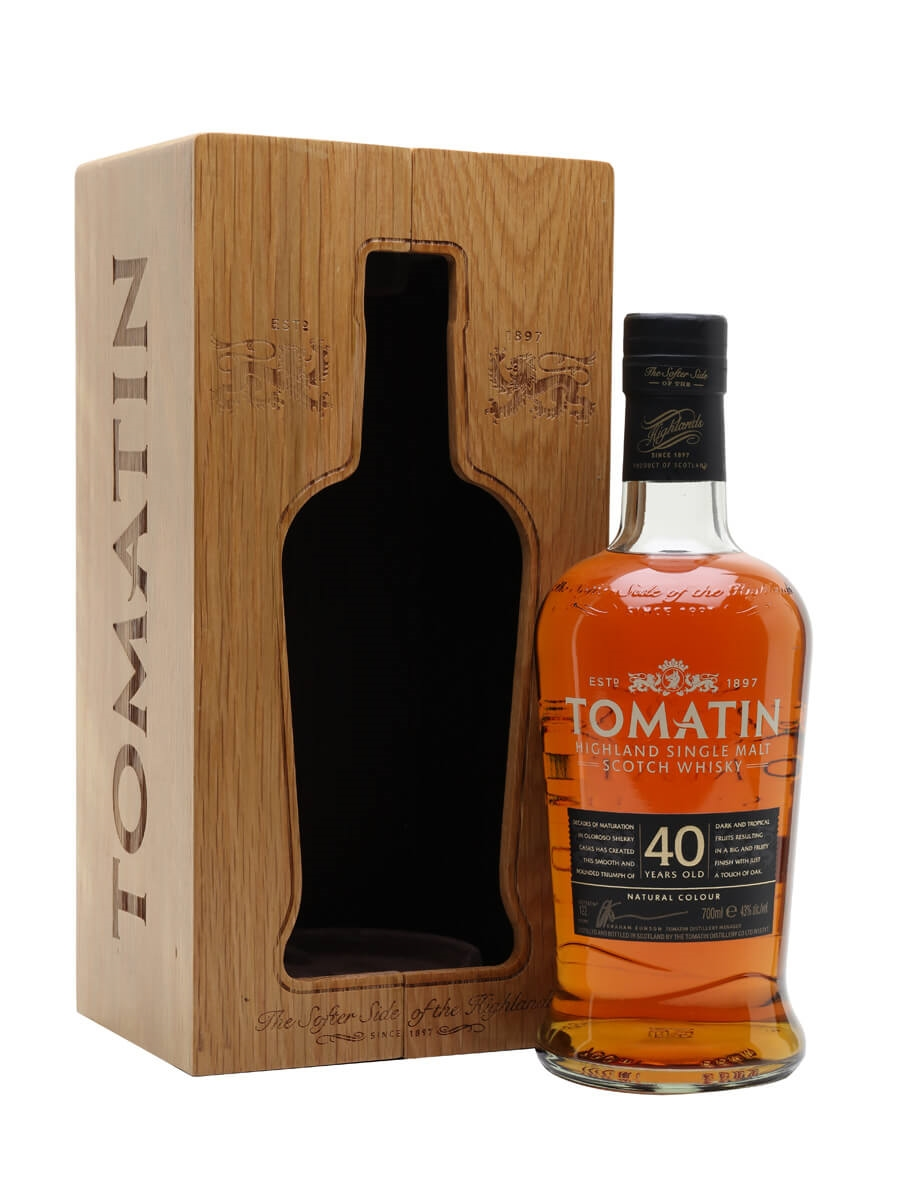 Tomatin 40 Year Old / Rare Casks