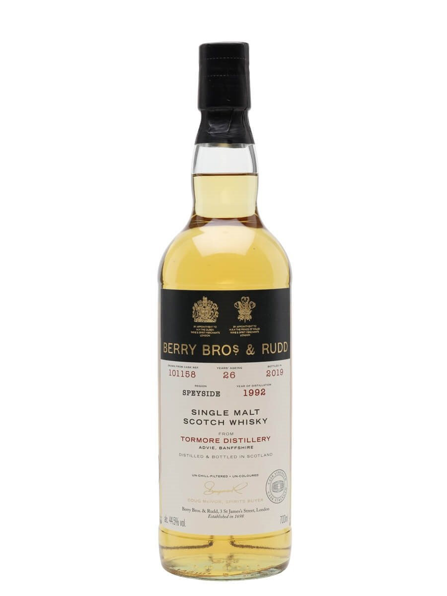 Tormore 1992 / 26 Year Old / Berry Bros & Rudd