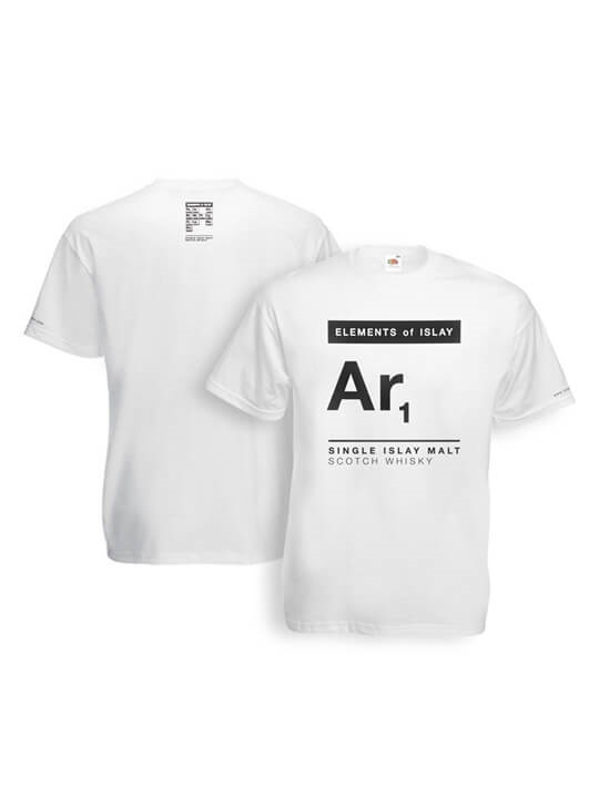 Ar1 Elements of Islay T-Shirt / White