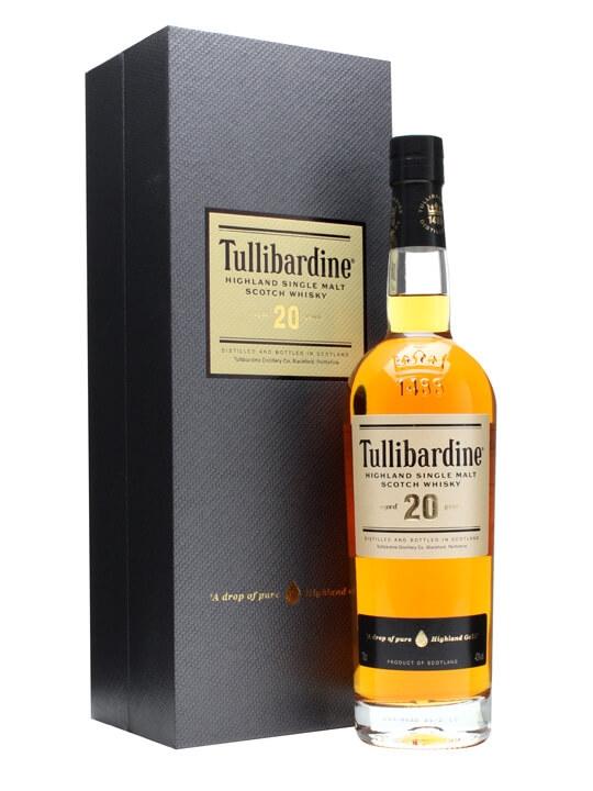 Tullibardine 20 Year Old Scotch Whisky : The Whisky Exchange