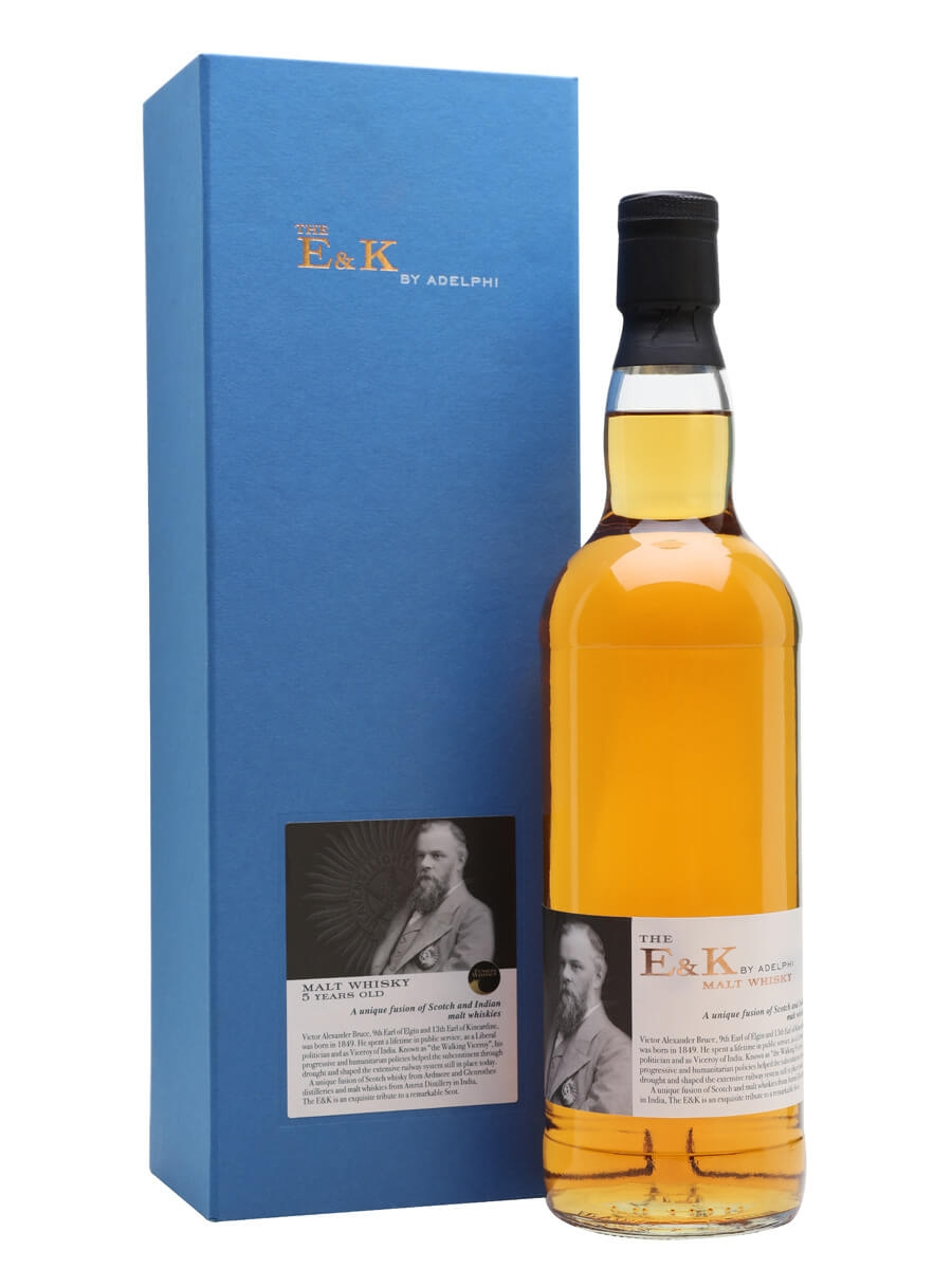 The E&K 5 Year Old Malt Whisky / Indian & Scotch Fusion