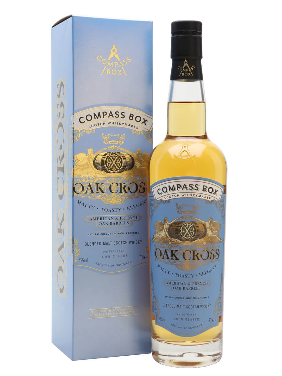 Review No.166. Compass Box Oak Cross