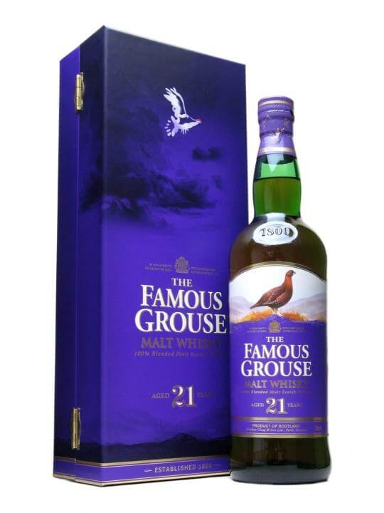 Famous Grouse 21 Year Old : The Whisky Exchange