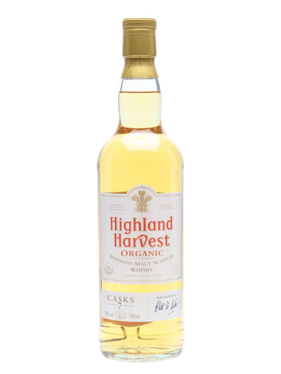 Highland Harvest / 7 Casks / Organic Blended Malt Whisky