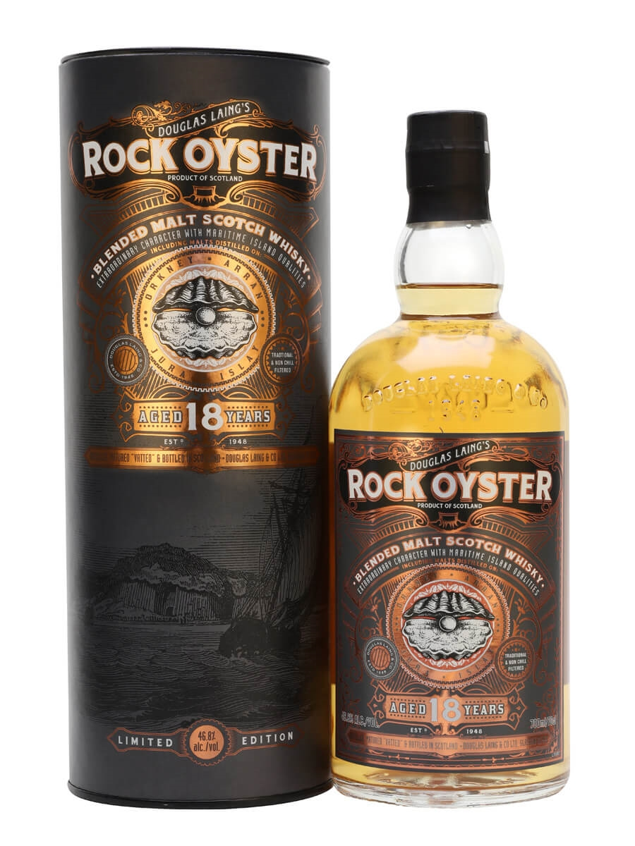 Rock Oyster 18 Year Old / Douglas Laing