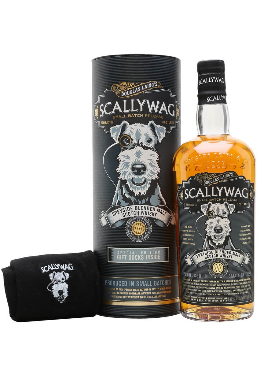 Scallywag Speyside Blended Malt / Sock Gift Pack