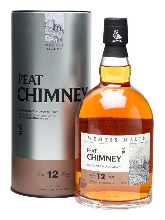 Wemyss Malts Peat Chimney 12 Year Old