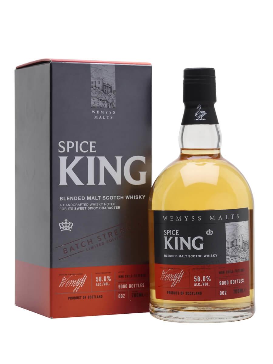 Wemyss Spice King Cask Strength Batch No 002