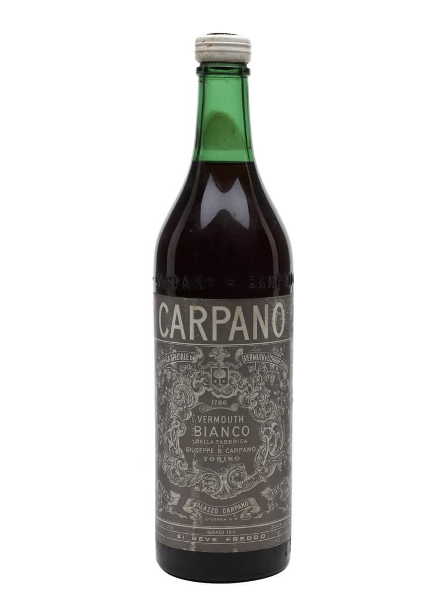 Carpano Bianco Vermouth / Bot.1960s / Litre