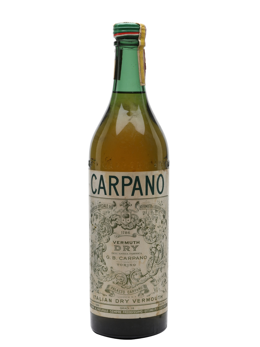 Carpano Dry Vermuth / Bot.1960s