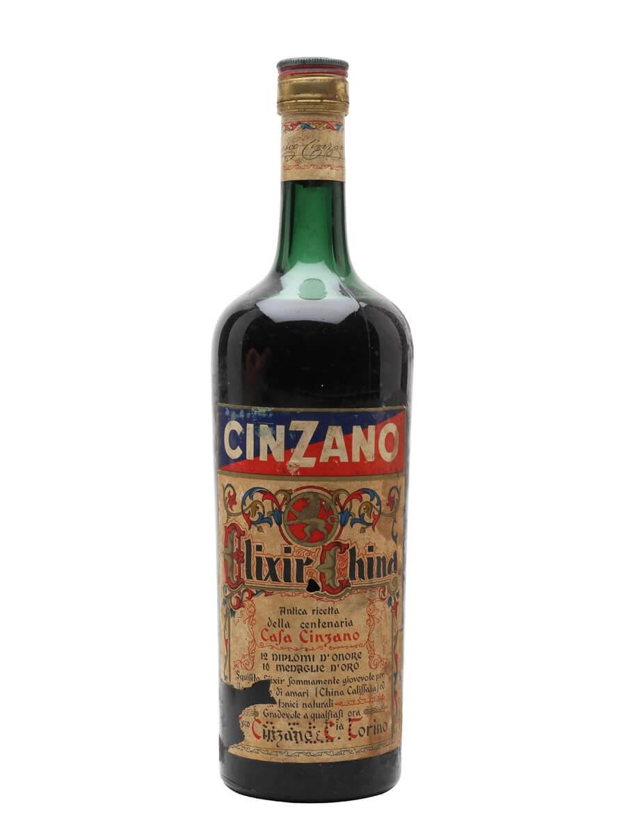 Cinzano Elixir China / Bot.1950s