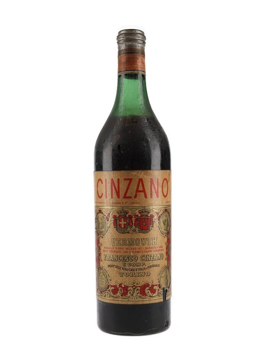 Cinzano Vermouth / Bot.1960s