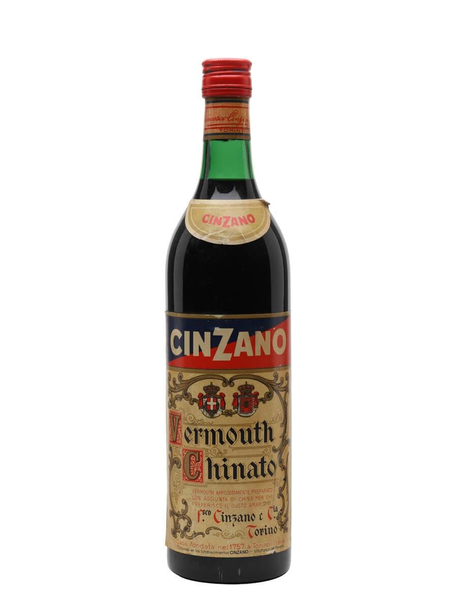 Cinzano Vermouth / Bot.1940s