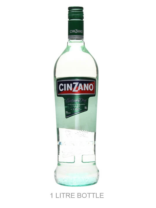 Cinzano Extra Dry Vermouth / Litre Bottle