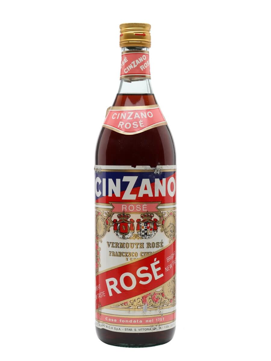 Cinzano Rose / Bot.1980s / Litre