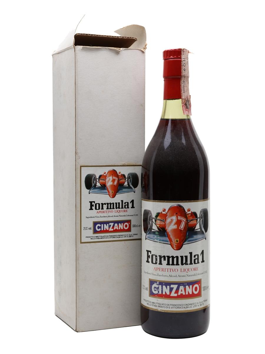 Cinzano Formula 1 / Bot.1970s