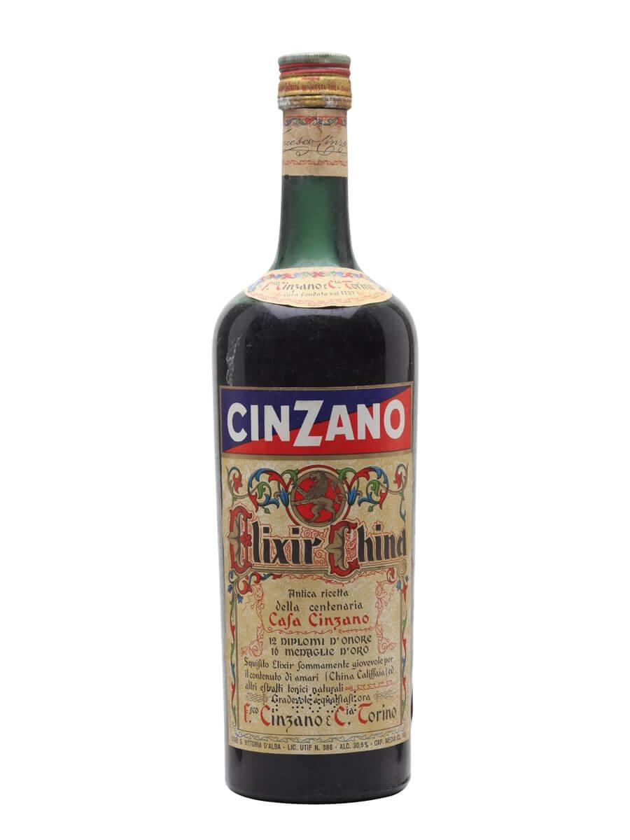 Cinzano Elixir China / Bot.1970s
