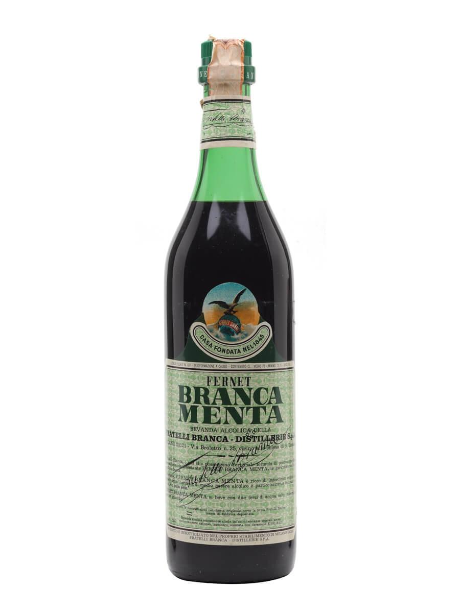 Fernet Branca Menta / Bot.1970s