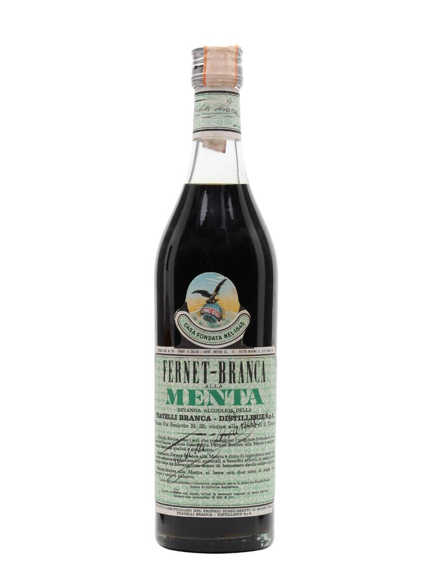 Fernet Branca Alla Menta / Bot.1960s