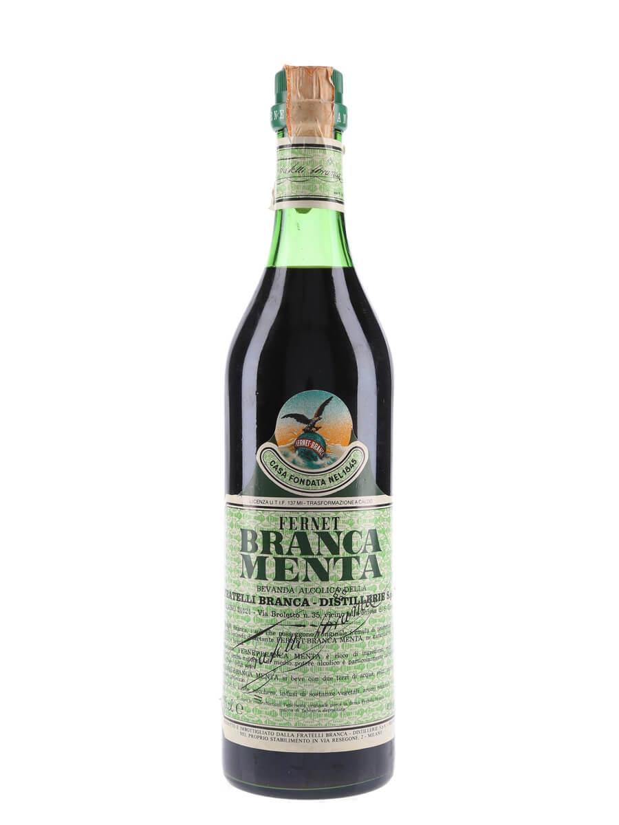 Fernet Branca Menta / Bot.1980s