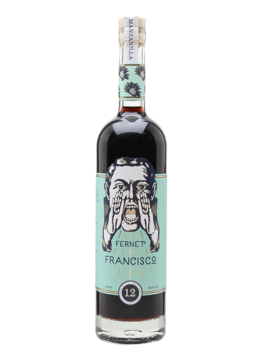 Fernet Francisco Manzanilla Bitters