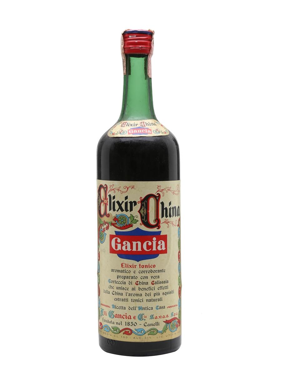 Gancia Elixir China / Bot.1960s / Litre