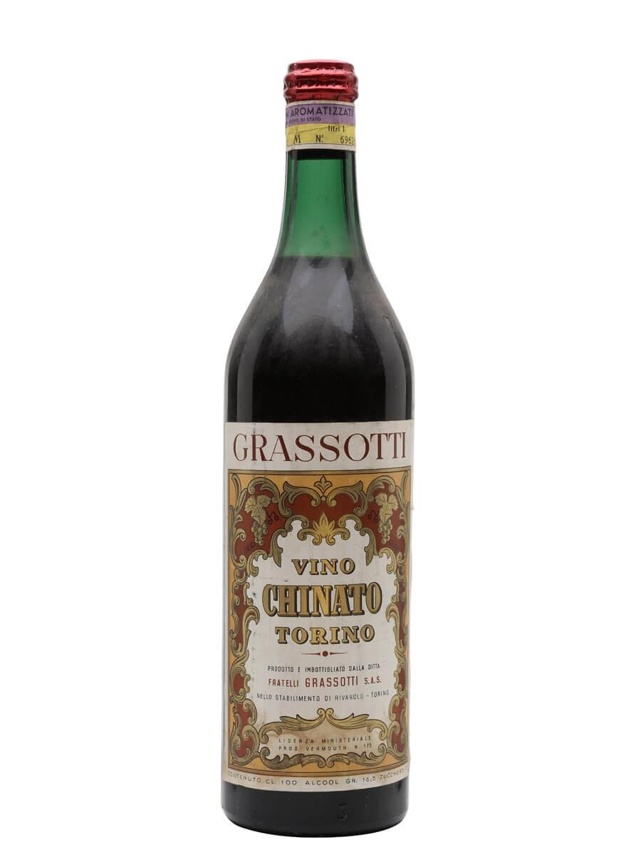 Grassotti Chinato Vermouth / Bot.1960s